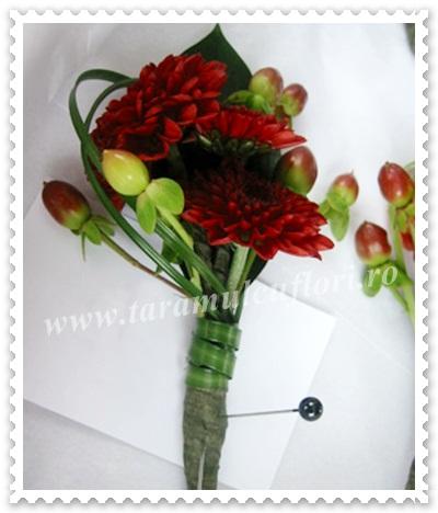 Cocarde din crizanteme.11
